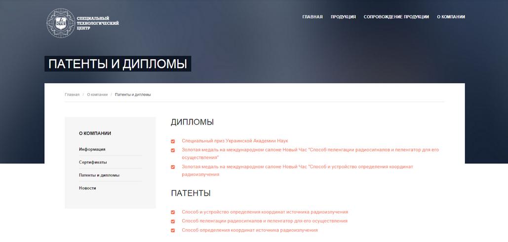 Patenty-Diplomy