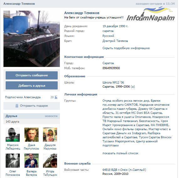 Temyakov profile