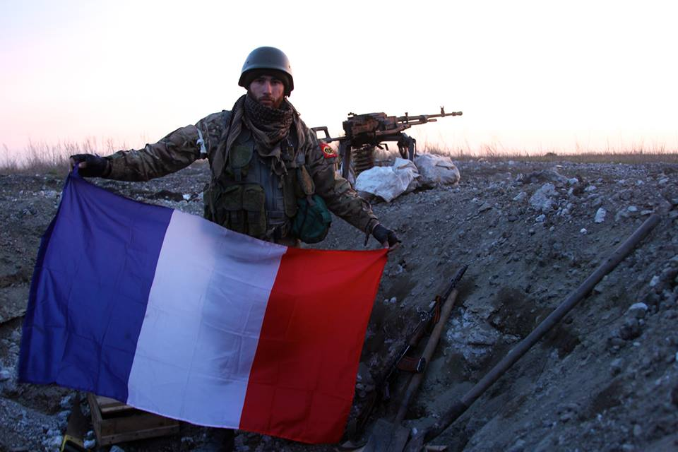 Guillaume Lenormand, the citizen of France, is a 'Russian world' militant in Donbas. Photo from his social profile