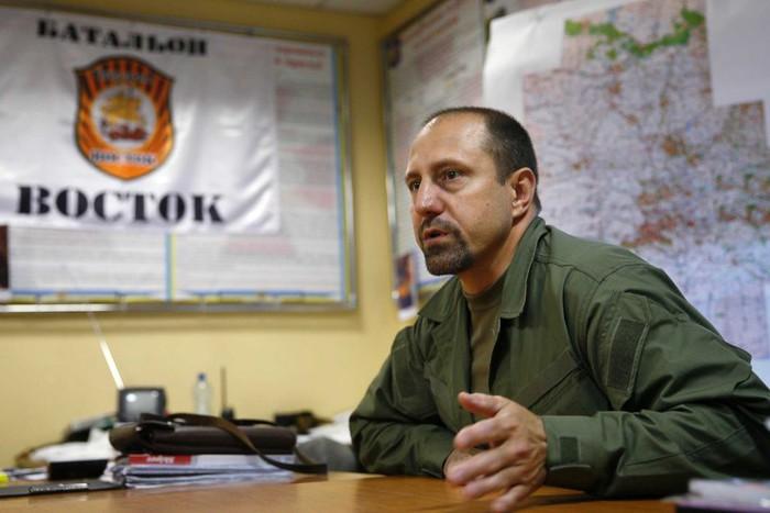 Командир бригады «Восток» Александр Ходаковский / Foto: Reuters