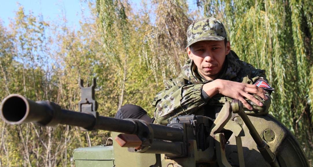 На фото: пророссийский террорист из Казахстана Нурлан Игенов