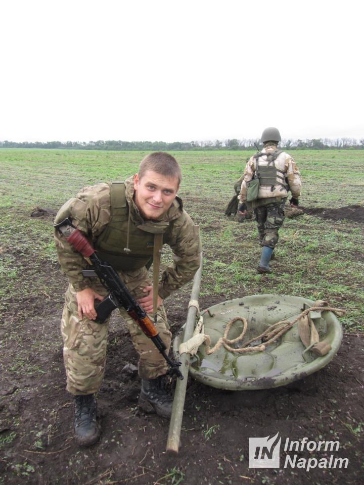 Morterangrep fra den russiske hærens terrorister