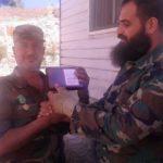 Сирийский спецназ хвастается медалями