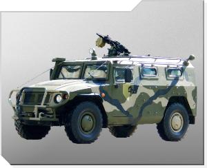 Pansarterrängbil GAZ-233014 Tigr (Tiger)
