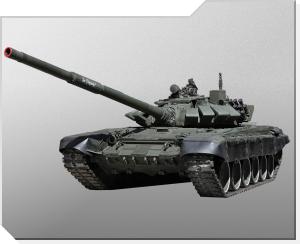Stridsvagn T-72B3 modell 2011