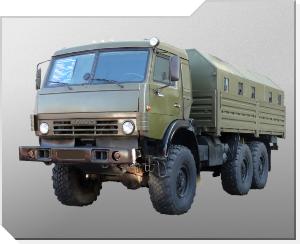 Terrenggående lastebil KamAZ-5350 Mustang