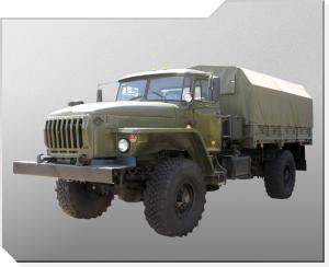 Terrenggående lastebil Ural-43206