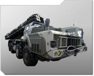 Rakettartillerisystem 9K58 Smerch (Tornado)