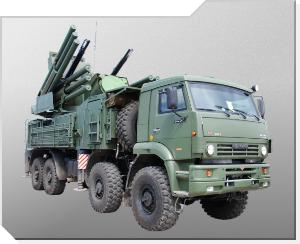 Luftvärnssystem 96K6 Pantsir-S1