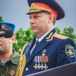 На параде 9 мая 2015 года, полковник