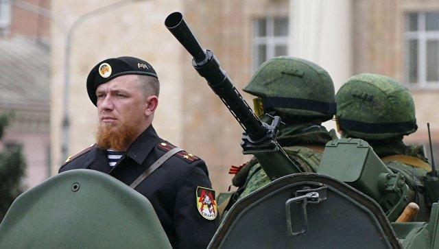 Moderniserade BTR-80 i tjänst hos den ryska ockupationsarmén