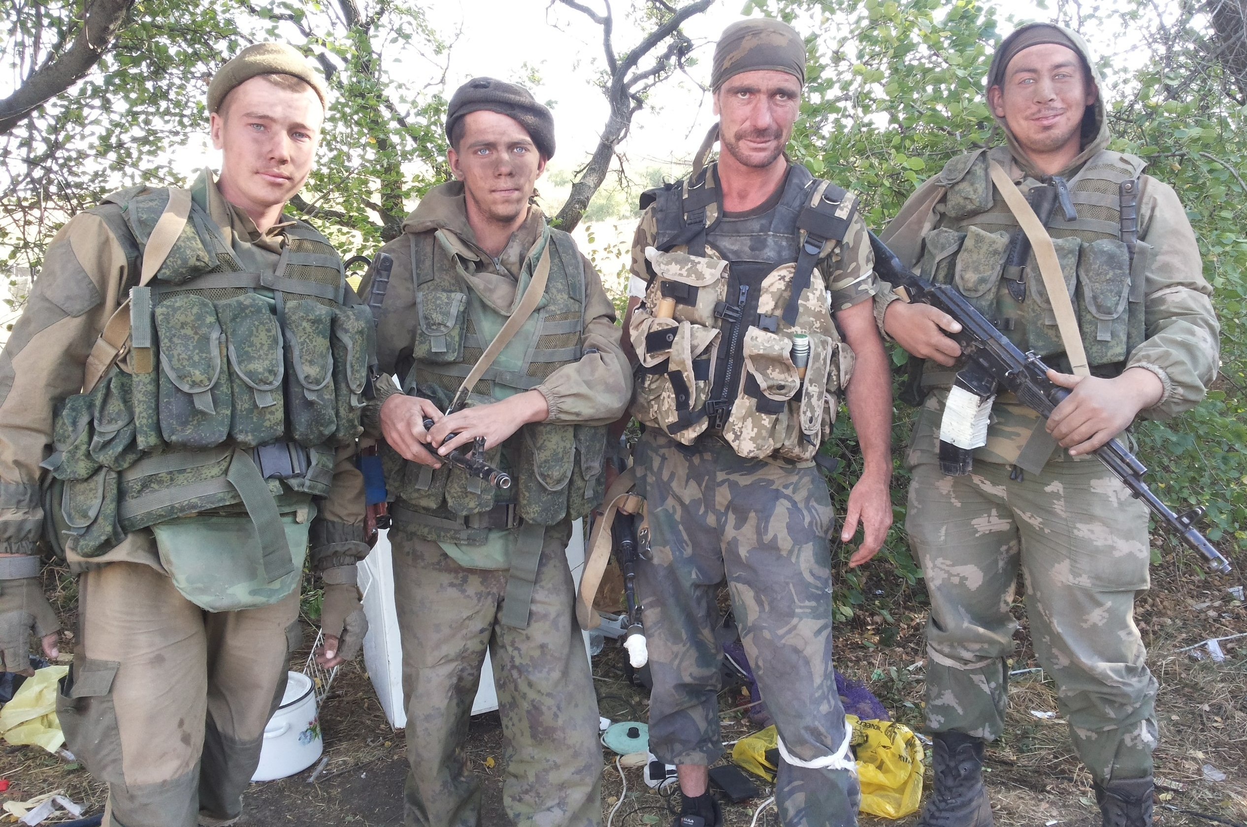Rysk bataljonsstridsgrupp på Rostov-Ukraina-uppdrag