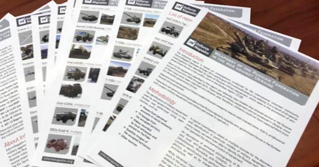 Russiske våpen i krigen mot Ukraina (PDF)
