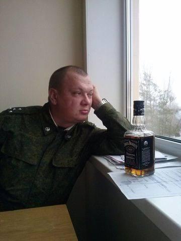 Rysk officer - Vladimir Vakhrushev - född 23 september 1982