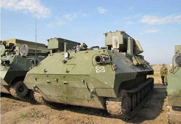 Rubicon telekrigsystem i östra Ukraina