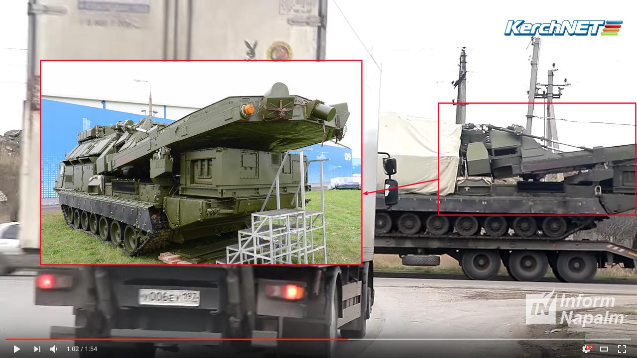 Ryssland grupperar S-300VM luftvärnssystem till Krim