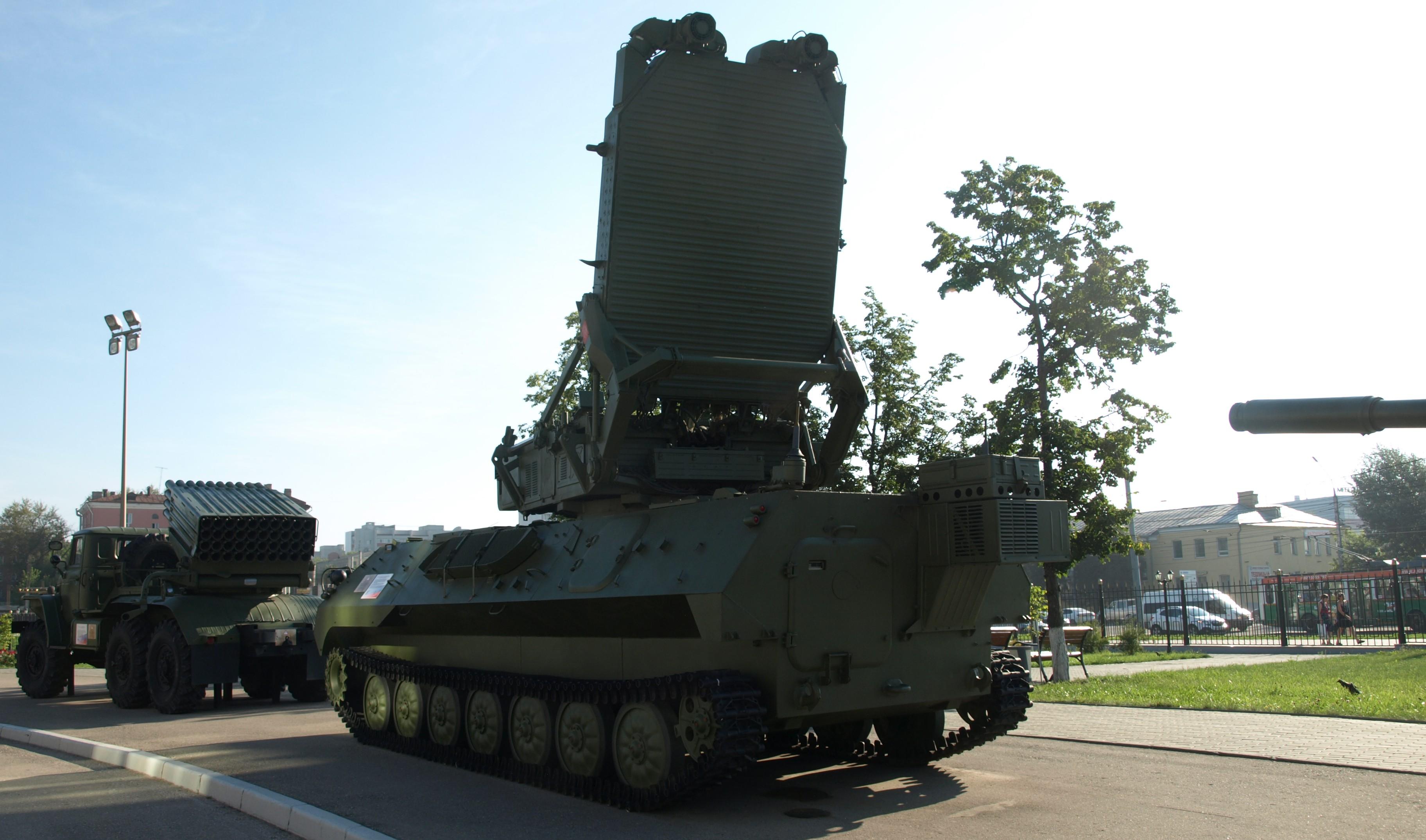 Russisk artilleriradar opdaget i det østlige Ukraine