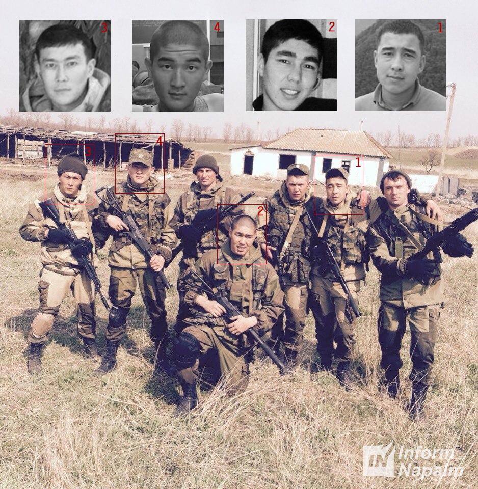 Ryska soldater vilse på Ukrainas stäpper