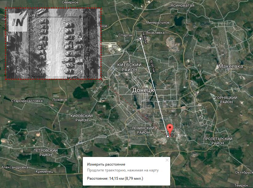 Avdïvka bombarderat av artilleri och stridsvagnar