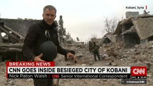 Russisk propaganda og journalister fra CNN i Donbass