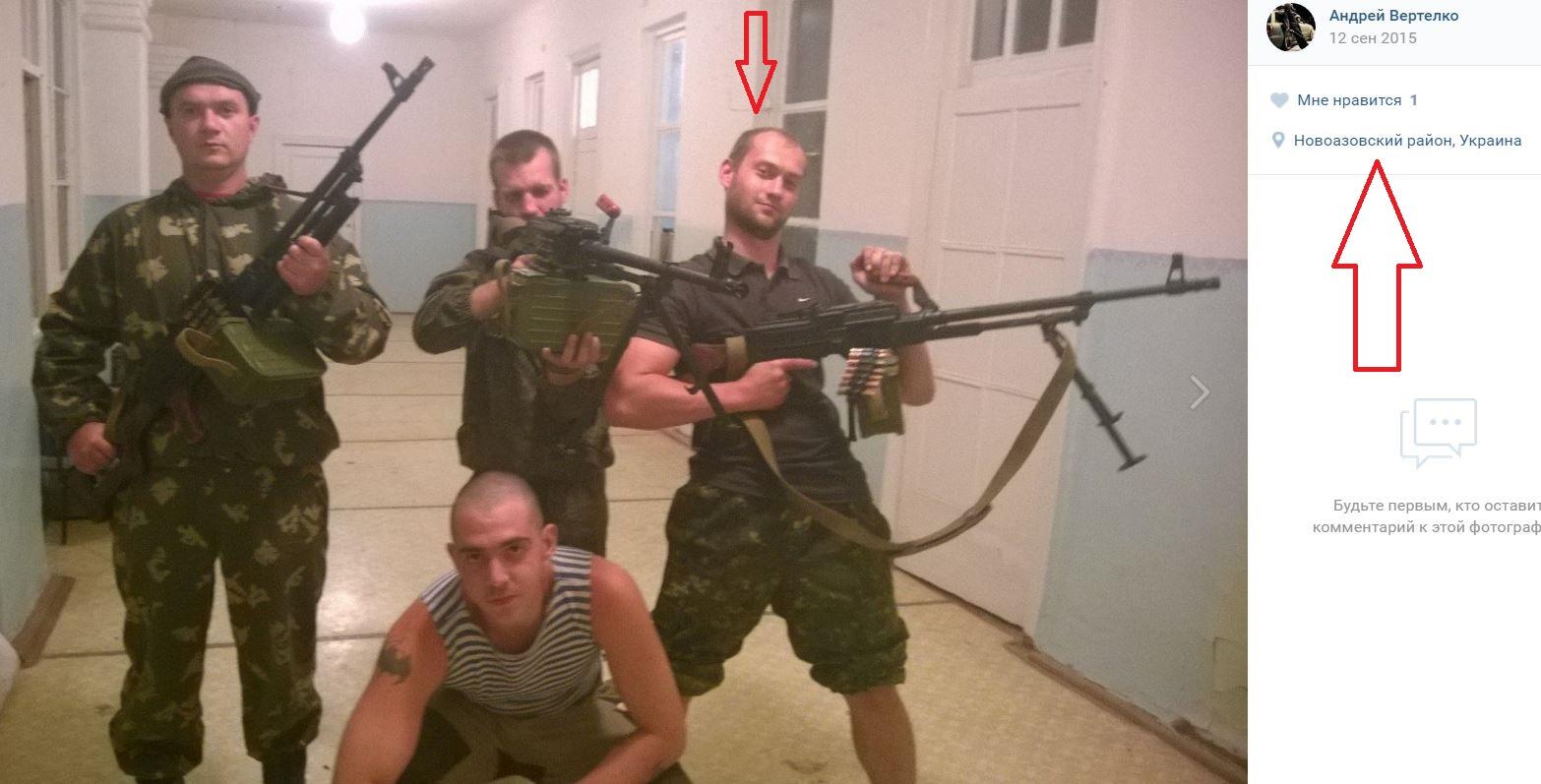 Rysk kontraktssoldat från militärbas i Tskhinvali