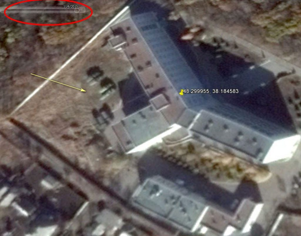 Okkupantene gjør Horlivka sykehjem til en militærbase