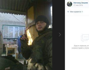 Ryska soldater i den väpnade gruppen Somali