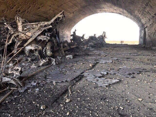Rysslands hysteri för precisionsbombningar av flygplan