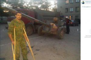 Signaltrupper från den ryska 136:e skyttebrigaden