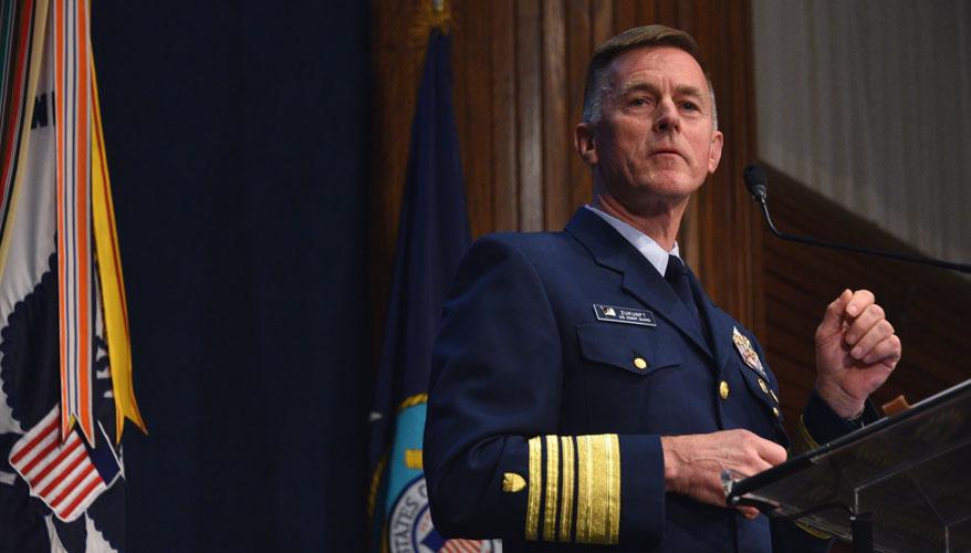 Admiral Paul Zukunft. Foto: Amerikanska kustbevakningen