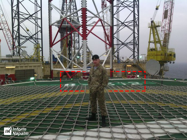 Daniel Morgunov från Svartahavsflottans 810:e marinbrigad