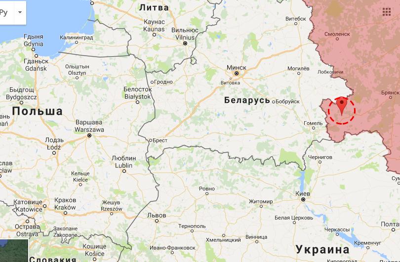 Klintsiy är en militär språngbräda för Rysslands framfart västerut