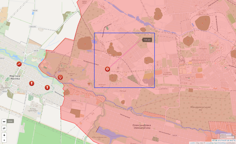 Provoserende angrep mot Trudovs'ka busstasjon