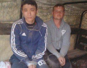 Den andra FSB-gränsvakten Askar Kulub tv.