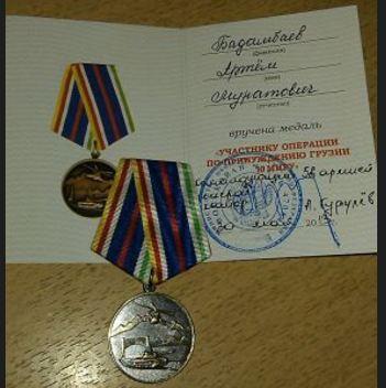 Korrupta general Gurulev röjs av soldater från den ryska 136:e Brigaden