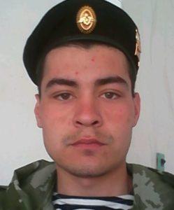 Kontraktsoldaten Arman Gabasov