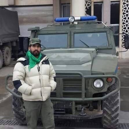 Tigr transportfordon för den ryska militärpolisen