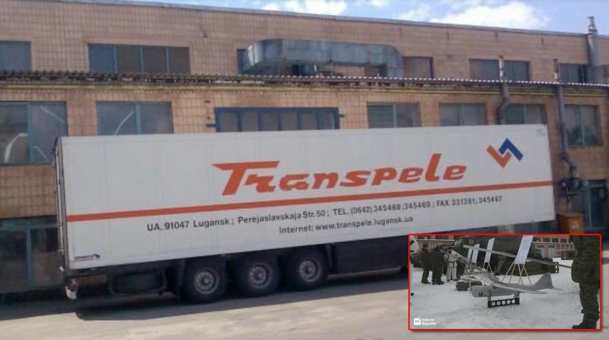 LAA-Trans LTD med verksamhetsnamnet Transpele, i staden Luhansk