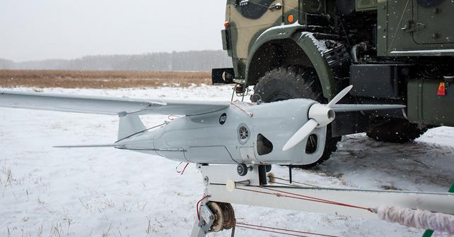 Украинские военные на Донбассе уничтожили российский БПЛА Орлан-10. Факты вторжения
