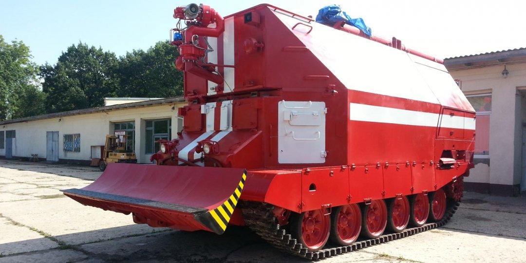 Brandbekämpningsfordon GPM-72