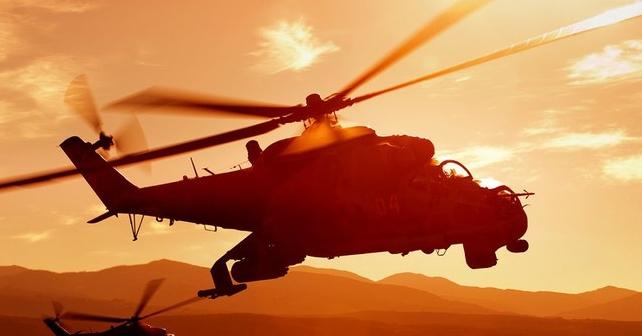 В Сирии разбился российский вертолет Ми-24, члены экипажа погибли