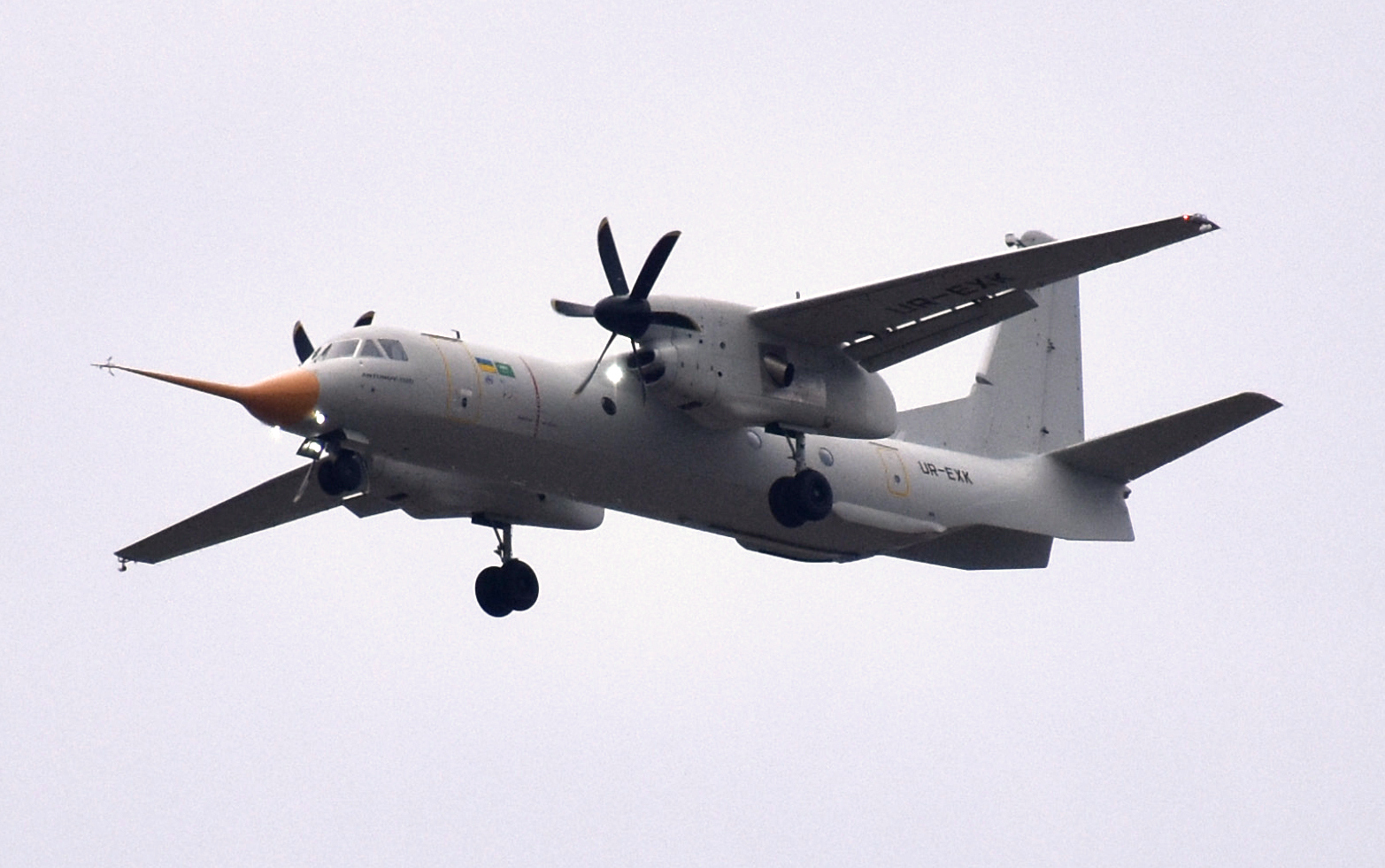 AN-132D transportflygplan