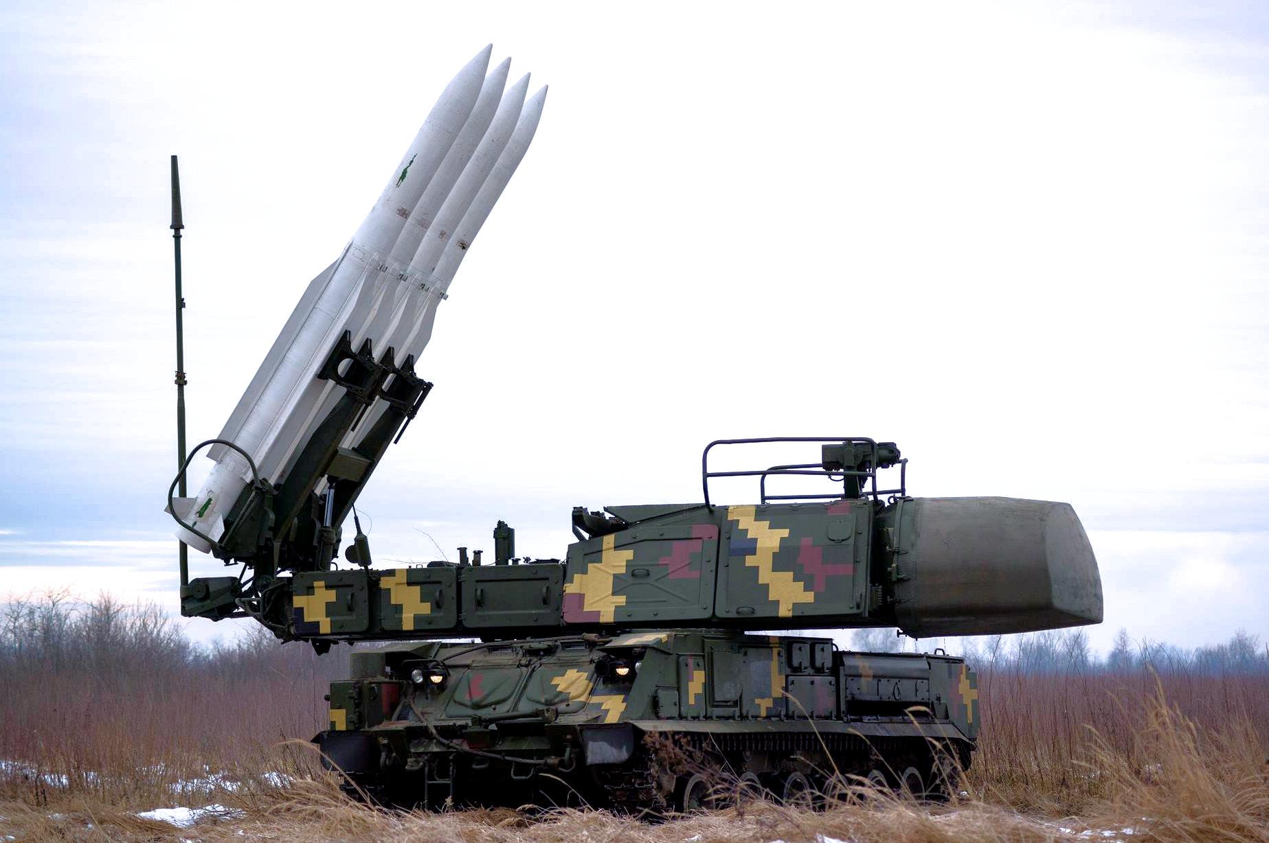 Зенитно-ракетный комплекс «Бук-М1» Воздушных Сил ВСУ