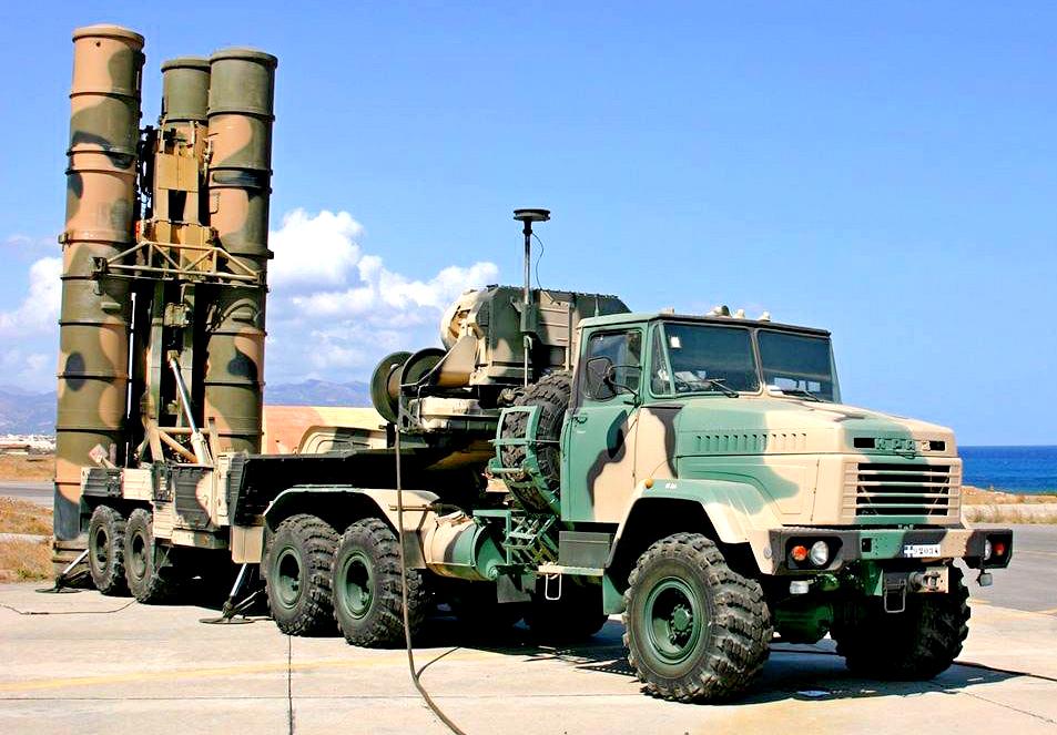 Модернизированный ЗРК С-300 на шасси КрАЗ-6446