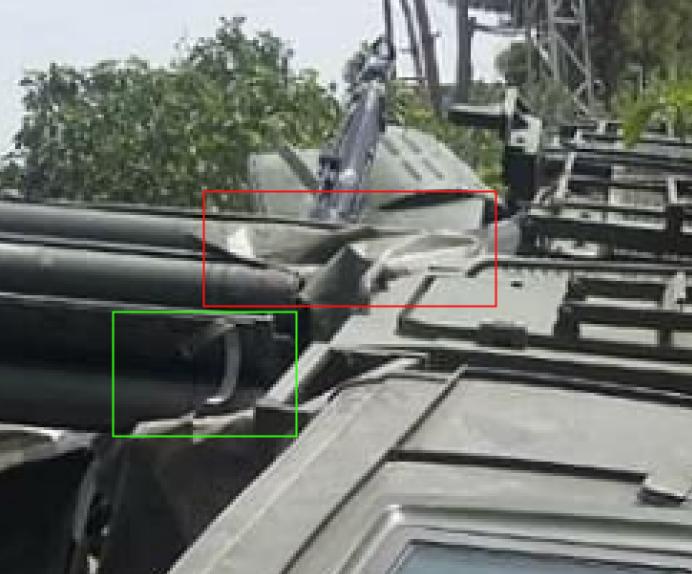 Pantsir-S1 luftförsvarssystem