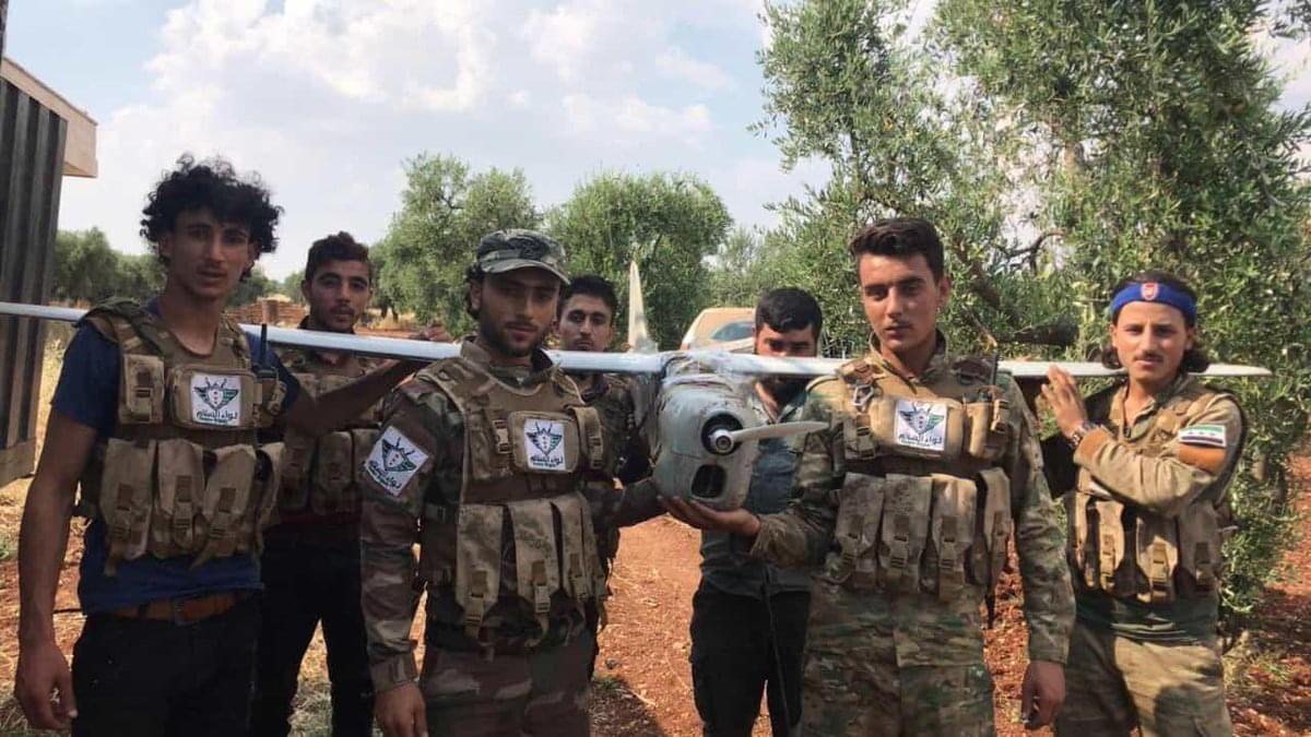 Орлан-10 в Сирии