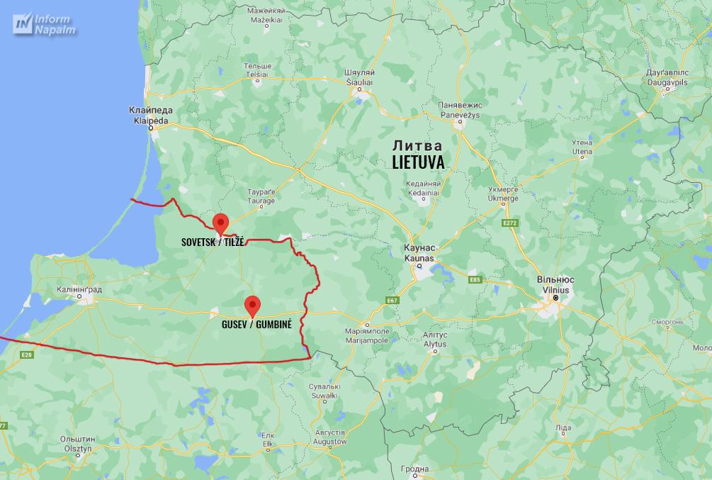 Tropper nær Suwałki-korridoren