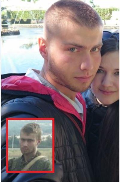 Offizier Alexei Atomow (alt. Gromow), geboren am 1. Januar 1990 in Tscherbakul