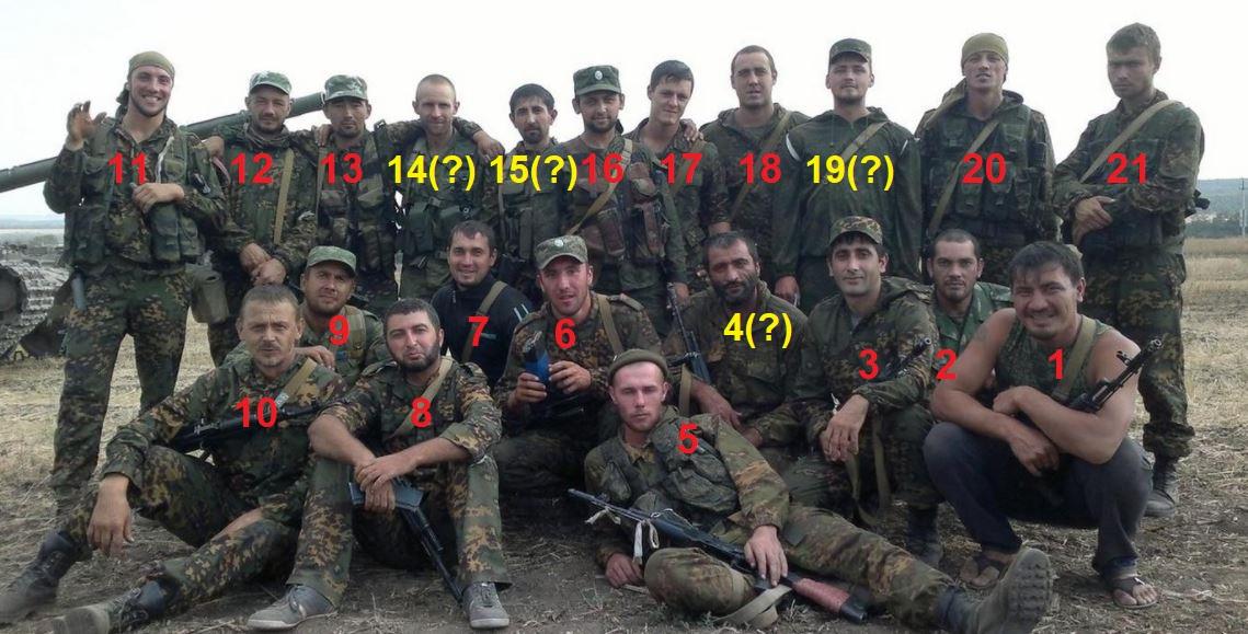 17 soldater från MskBrig 17 involverade i fientligheter mot Ukraina
