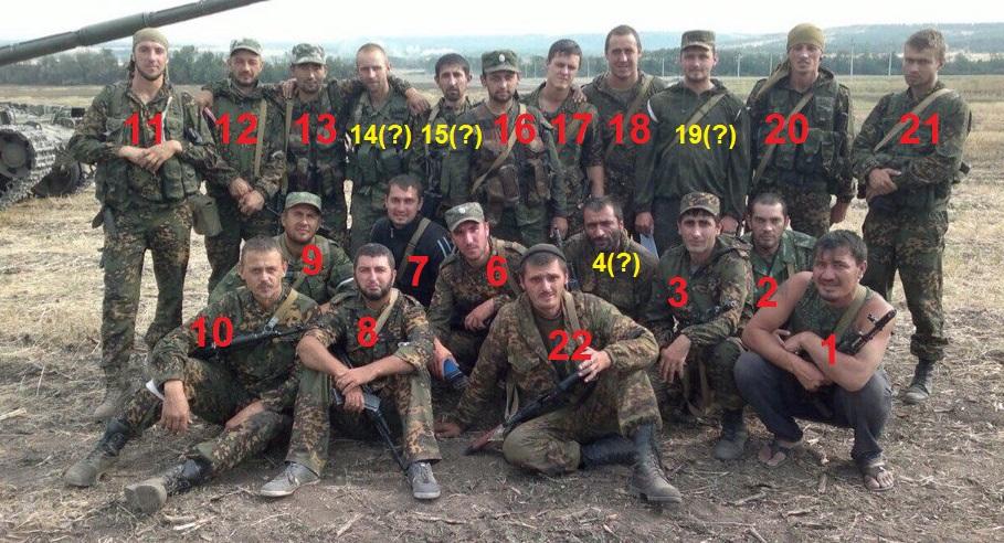 17 Soldaten der 17. SMSBr, beteiligt an Feindseligkeiten in der Ukraine
